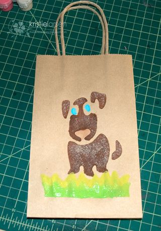 Plaid_giftbag_painted