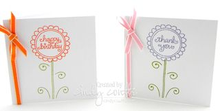 Flower Greetings Box Set Cards 1