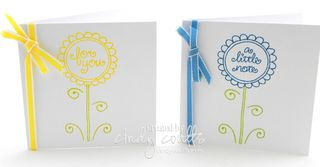 Flower Greetings Box Set Cards 2