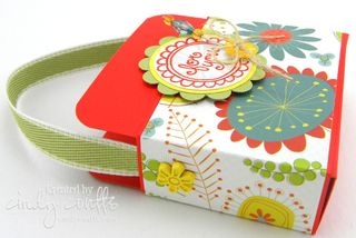 Flower Greetings Box Set Side View