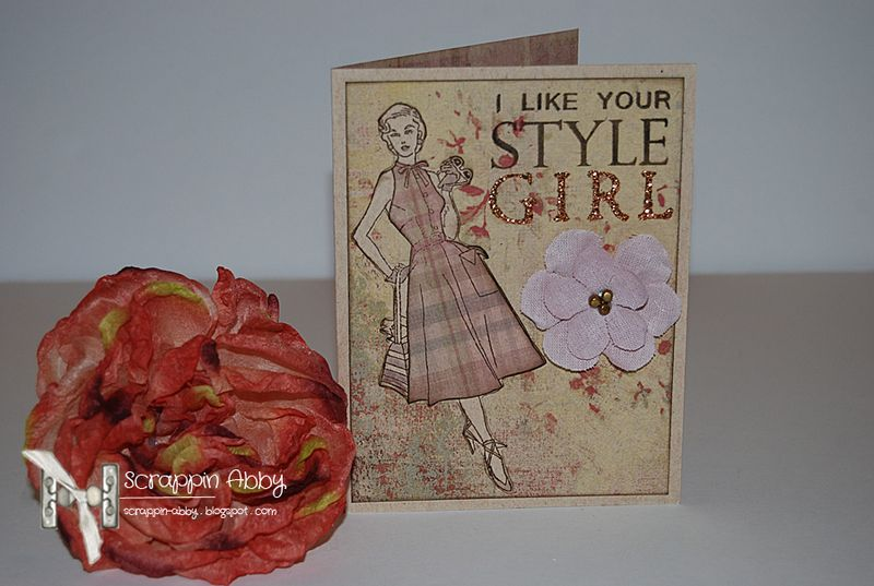Style Girl Card